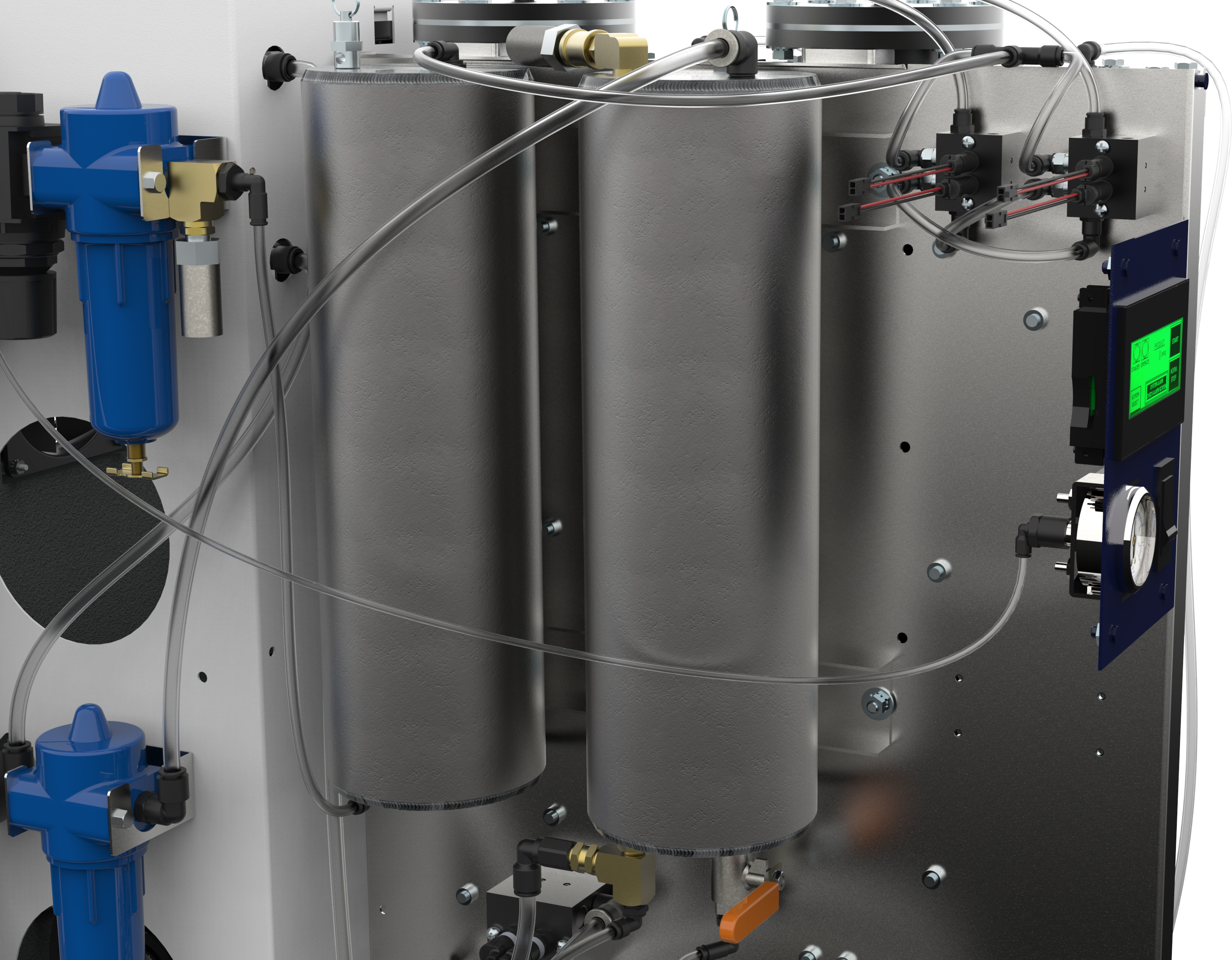 Nitrogen Gas Purifier ~ N p proton on site